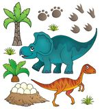 Dinosaur topic set 6. Eps10 vector illustration Royalty Free Stock Images