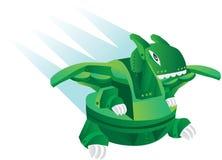 Dinosaur toy. Illustration cartoon robot - dinosaur toy Royalty Free Stock Image
