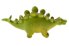 Dinosaur toy close up Royalty Free Stock Photo