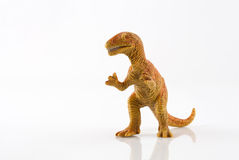 Dinosaur toy isolated on white Stock Images