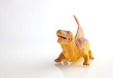 Dinosaur toy isolated on white Royalty Free Stock Image