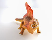 Dinosaur toy isolated on white Royalty Free Stock Images