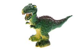 Dinosaur toy macro Stock Photography