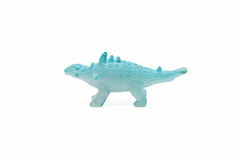 Dinosaur toy plastic figures Royalty Free Stock Photo