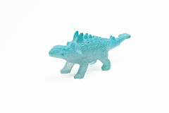 Dinosaur toy plastic figures Royalty Free Stock Image