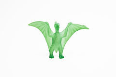 Dinosaur toy plastic figures Royalty Free Stock Photos