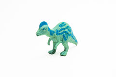 Dinosaur toy plastic figures Stock Images