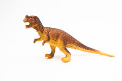 Dinosaur toy plastic figures Royalty Free Stock Photography
