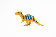 Dinosaur toy plastic figures Royalty Free Stock Images