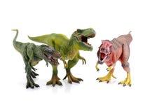 Dinosaur toy. On white background stock images
