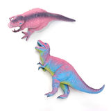 Dinosaur toys Stock Images