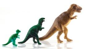 Dinosaur toys Stock Image