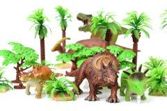 Dinosaur toys Royalty Free Stock Photos