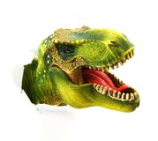 Dinosaur stock image