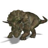 Dinosaur Triceratops royalty free illustration