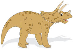 Dinosaur Triceratops Stock Photo