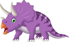 Dinosaur Triceratops cartoon Stock Photo