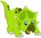 Dinosaur Triceratops cartoon Stock Photos