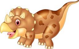 Dinosaur triceratops, illustration Stock Photography