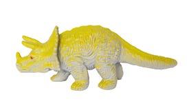 Dinosaur Triceratops. Isolated on the white background Stock Image