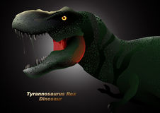 Dinosaur Tyrannosaurus head Royalty Free Stock Photography
