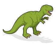 Dinosaur Tyrannosaurus Rex. Prehistoric reptile. Ancient predato Royalty Free Stock Images