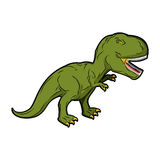 Dinosaur Tyrannosaurus Rex. Prehistoric reptile.  Royalty Free Stock Photography