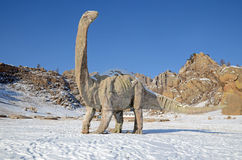 Dinosaur Valley  in Terelj National Park. Mongolia Royalty Free Stock Photos