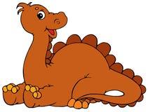 Dinosaur (vector clip-art) Stock Image