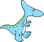 Dinosaur Vector Illustration Royalty Free Stock Photo