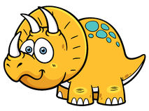 Dinosaur. Vector illustration of Cartoon dinosaur royalty free illustration