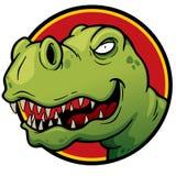 Dinosaur. Vector illustration of Cartoon Dinosaur Stock Photos