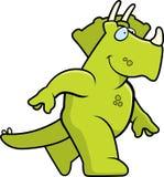 Dinosaur Walking Royalty Free Stock Photos