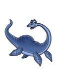 Dinosaur water vector illustration