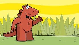 Dinosaur Waving Stock Photo