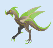 Dinosaur with wings Royalty Free Stock Image