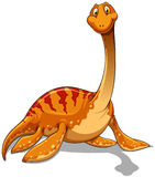 Dinosaur With Long Neck Royalty Free Stock Image