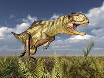 Dinosaur Yangchuanosaurus Stock Images