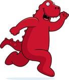 dinosaura bieg Zdjęcia Royalty Free