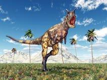 Dinosaura Carnotaurus Obrazy Stock