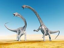 Dinosaura diplodokus royalty ilustracja