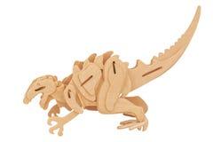 Dinosaura drewno Zdjęcia Royalty Free