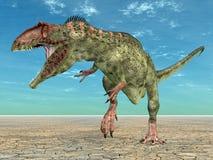 Dinosaura Giganotosaurus Fotografia Royalty Free