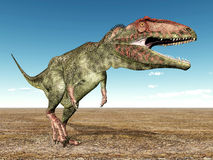 Dinosaura Giganotosaurus Zdjęcie Stock