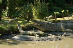Dinosaura Krystalicznego pałac park Zdjęcie Stock