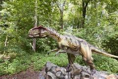 dinosaura monolofozaur fotografia stock