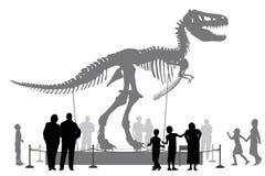 Dinosaura muzeum Fotografia Royalty Free