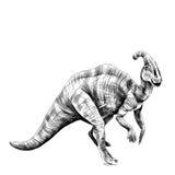 Dinosaura nakreślenia wektor Obraz Stock