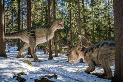 Dinosaura park w Szklarska Poreba Obrazy Royalty Free