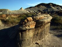 Dinosaura prowincjonału parka Hoodoo zdjęcia stock